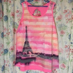 Justice pink blouse Paris